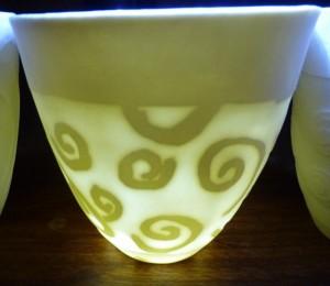 Water Eroded Porcelain